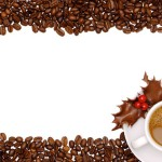 Festive Coffee Border